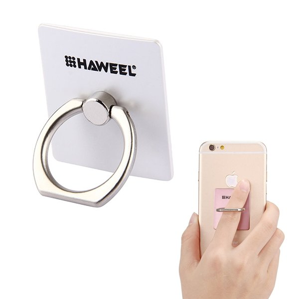 wortek Handy Ring Fingerhalter 360° drehbarer Ringhalter...
