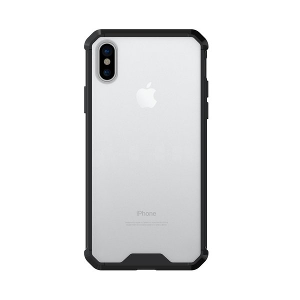Hülle für iPhone X TPU Silikon Case [SHOCKPROOF] stoßfester Bumper Backcover Transparent Handyhülle Outdoor Protector