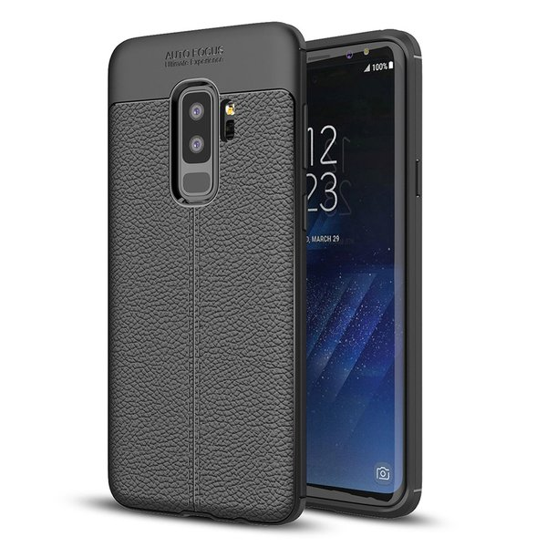 samsung galaxy s9 tpu case in edler lederoptik. Black Bedroom Furniture Sets. Home Design Ideas