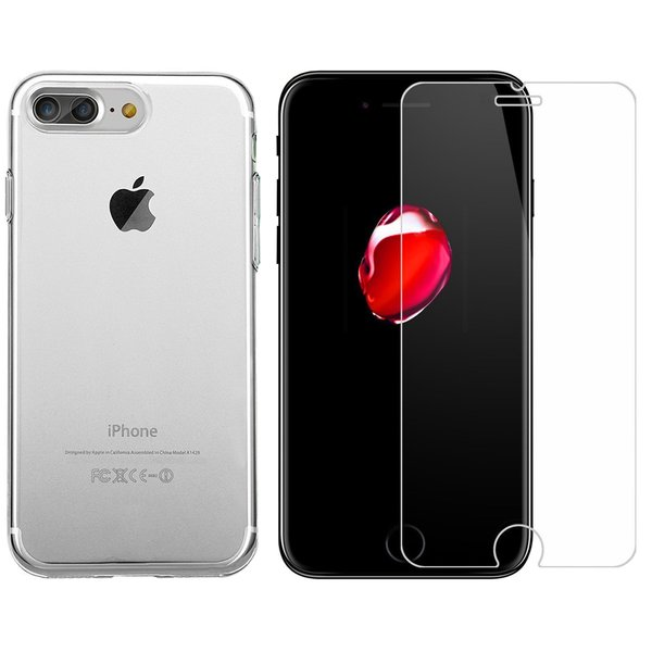 iPhone 8 Plus / iPhone 7 Plus Rundumschutz 2 in 1 Set...