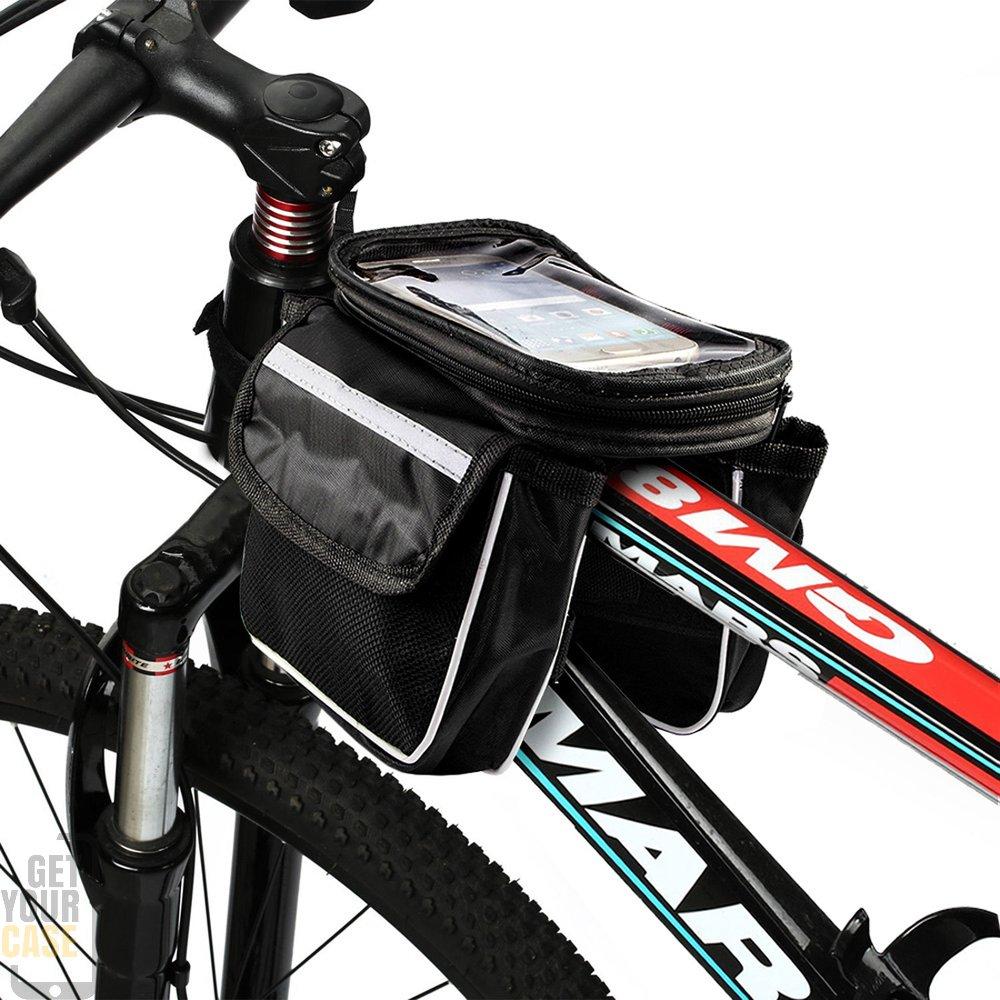 fahrradtasche f r smartphone mit touch funktion. Black Bedroom Furniture Sets. Home Design Ideas