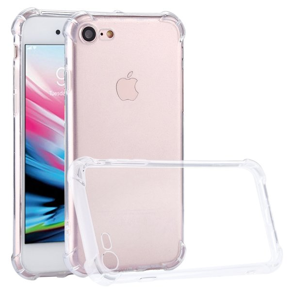 iPhone 8 iPhone 7 Hülle SHOCKPROOF TPU Silikon Transparent Case Bumper Tasche