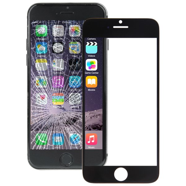 wortek Ersatzteil Display Glas Apple iPhone 6S Plus Touchscreen Schwarz