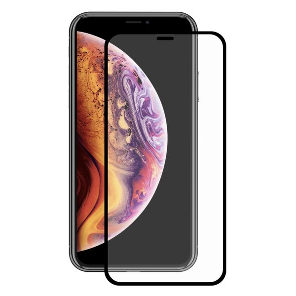 Apple iPhone XR XIR Panzerglas Full Cover Curved 3D...