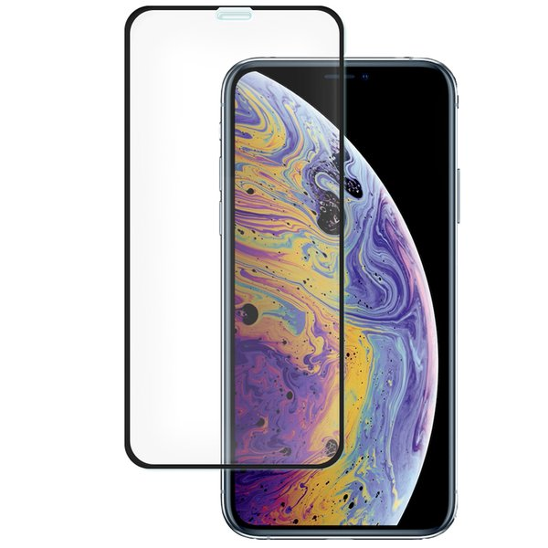 iPhone X XS XI  Panzerglas Full Cover Curved 3D...