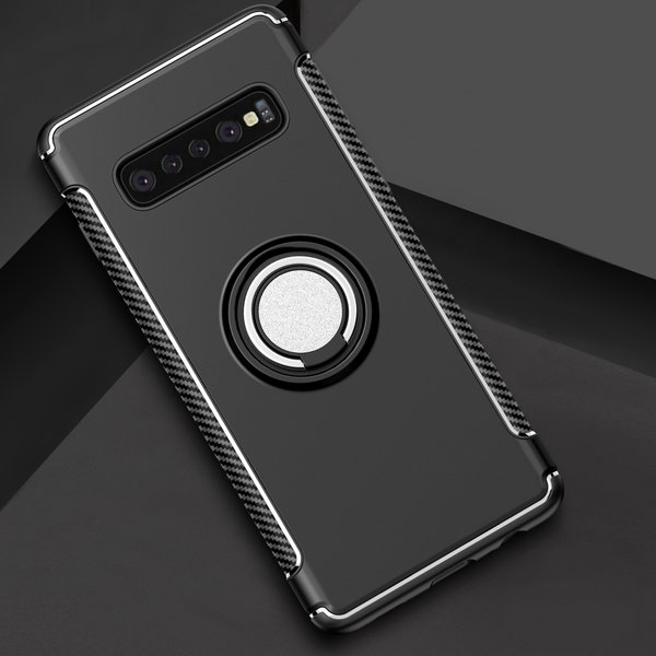 Samsung Galaxy S10 Ring-Hülle TPU Silikon Case Handyhülle...