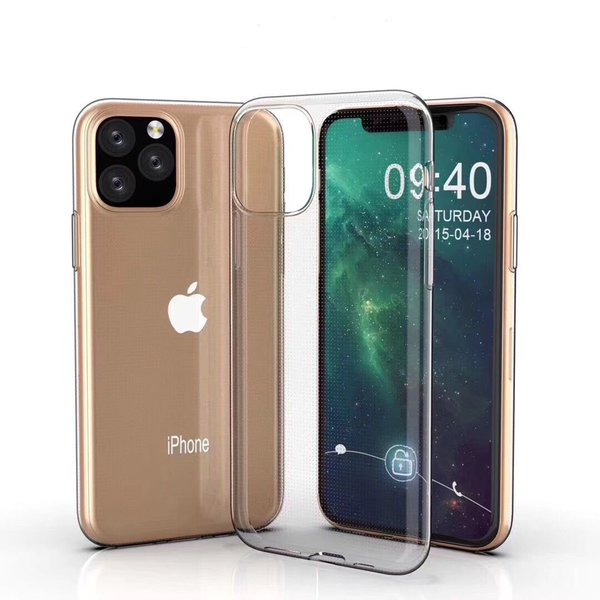 Apple iPhone 11 Pro Max Hülle TPU Silikon Case Schutz...