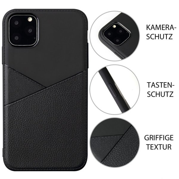 Apple iPhone 11 Pro Hülle Schutz Case TPU Silikon Cover...